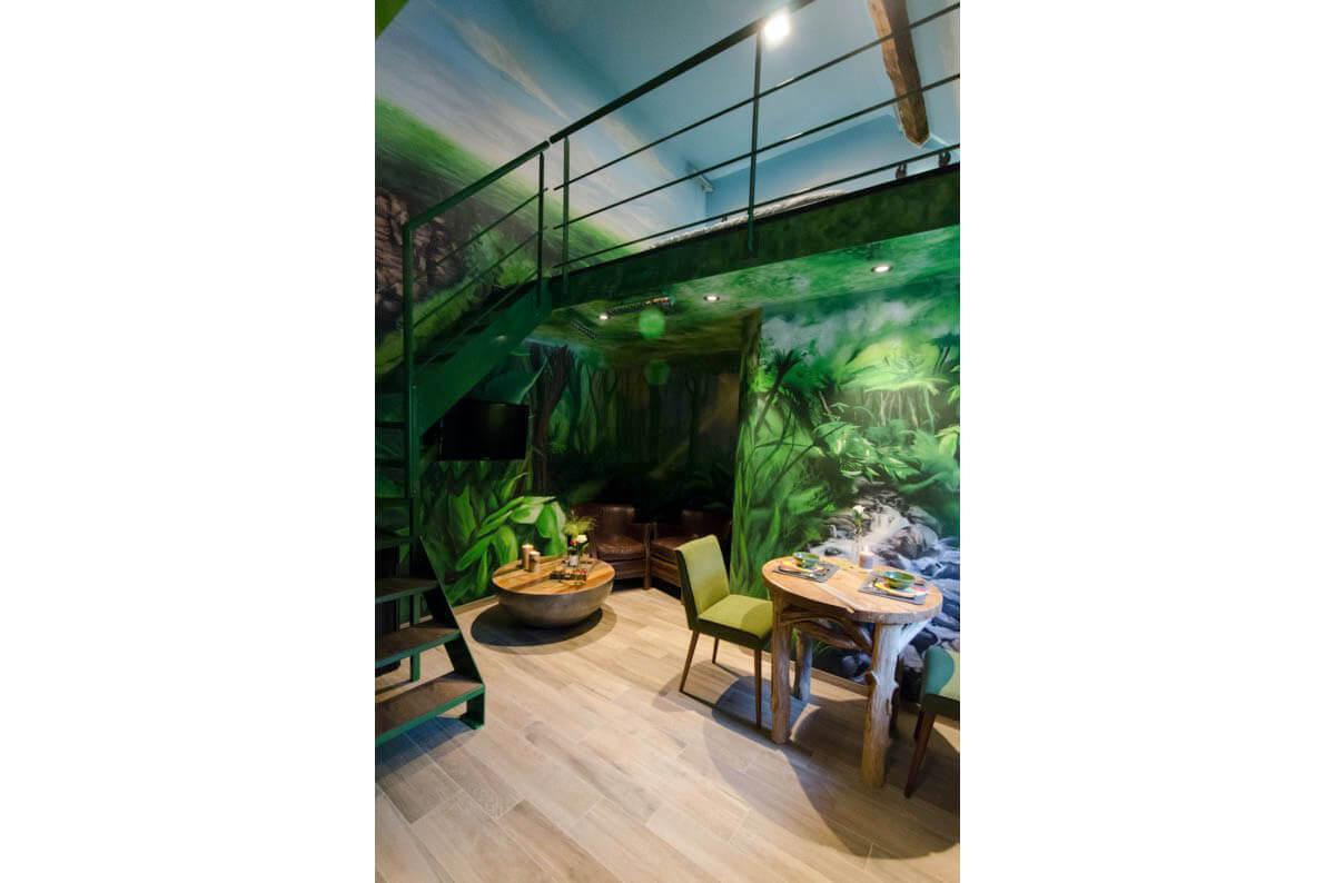 A la poursuite du Diamant vert - Hôtel insolite - River Lodge - Maredsous