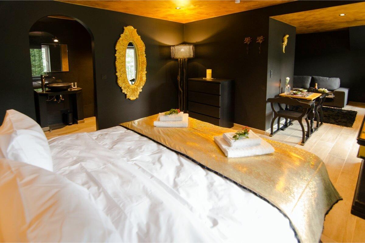 Stras et élégance - Hôtel insolite - River Lodge - Maredsous