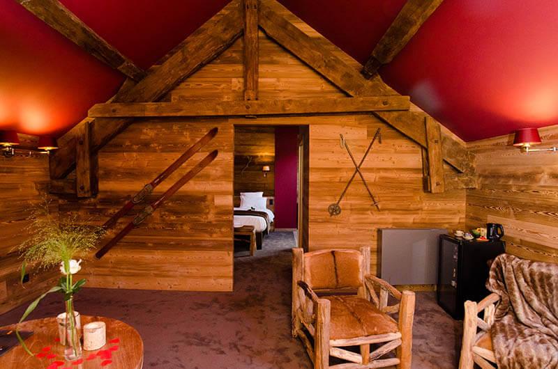 Nos chambres à thèmes - Hôtel insolite - River Lodge - Maredsous